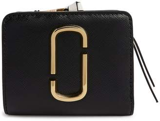 Marc Jacobs Leather Snapshot Mini Compact Wallet