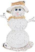 Merry & Bright Snowman Pin