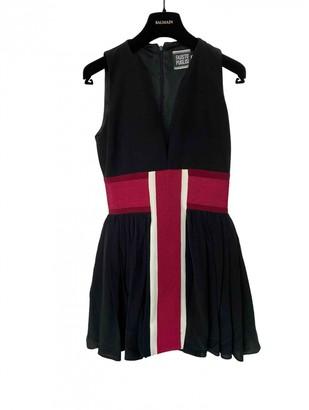 Fausto Puglisi Black Silk Dresses