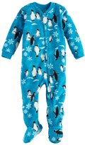 Jammies For Your Families Baby Jammies For Your Families Penguin Microfleece Footed Pajamas