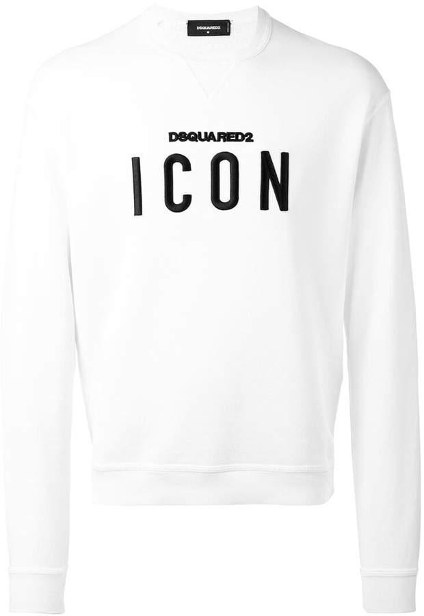 DSQUARED2 Icon slogan sweatshirt