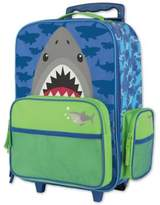 Stephen Joseph Shark Rolling Luggage in Blue