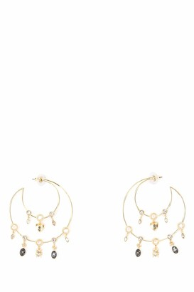 Swarovski Magnetic Hoop Earrings