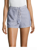 The Jetset Diaries Haven Cotton Striped Short