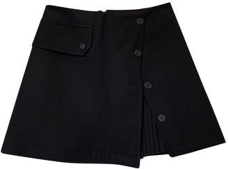 Neil Barrett Black Wool Skirt for Women