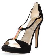 Loriblu T-bar Embellishment Heel