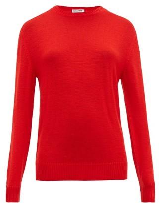 Jil Sander Round-neck Wool Sweater - Red