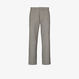 Edward Crutchley X Browns 50 Checked Tailored Trousers - Men's - Fabric