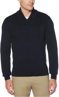 Perry Ellis Men Argyle Shawl-Collar Sweater