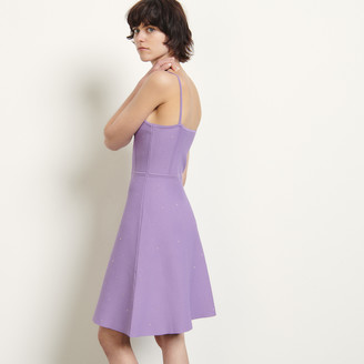 Sandro Knitted dress with straps