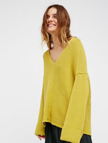 Free People La Brea V-Neck Jumper