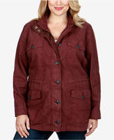 Lucky Brand Trendy Plus Size Utility Jacket