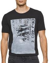 Calvin Klein Jeans Military Logo Crewneck Tee
