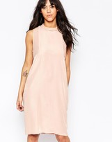 Minimum Sleeveless High Neck Pencil Dress