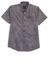 RVCA Boy's Heat Wave Woven Shirt