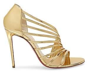f57d85534b3 Women's Norina Metallic Leather Sandals