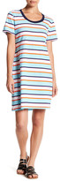 Tommy Bahama Short Sleeve Striped T-Shirt Dress
