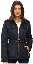 Vince Camuto Belted Quilted Jacket J1611 Women's Coat