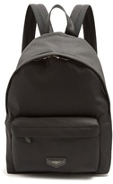 Givenchy Urban Leather-tag Canvas Backpack