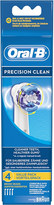 Oral-B Oral B Pack of four Precision Clean replacement toothbrush heads