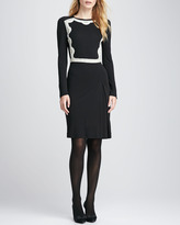 Tory Burch Maci Lace-Frame Dress