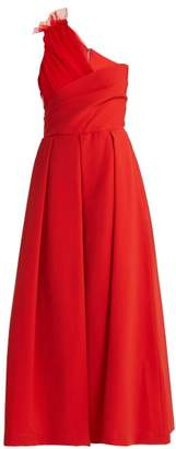 Preen by Thornton Bregazzi Edie Asymmetric Gown - Womens - Red