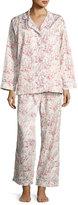 BedHead Floral-Print Classic Pajama Set, Spring Bloom, Plus Size