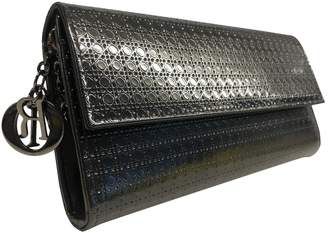 Christian Dior Metallic Leather Clutch bags