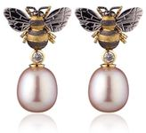 Theo Fennell Bee Drop Earrings