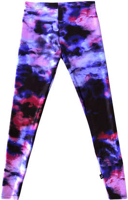 Terez Girl's Blurred Lines Printed Leggings, Size S-XL