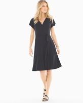 Soma Intimates Flutter Sleeve Wrap Dress