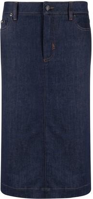 Tom Ford High-Waisted Denim Skirt