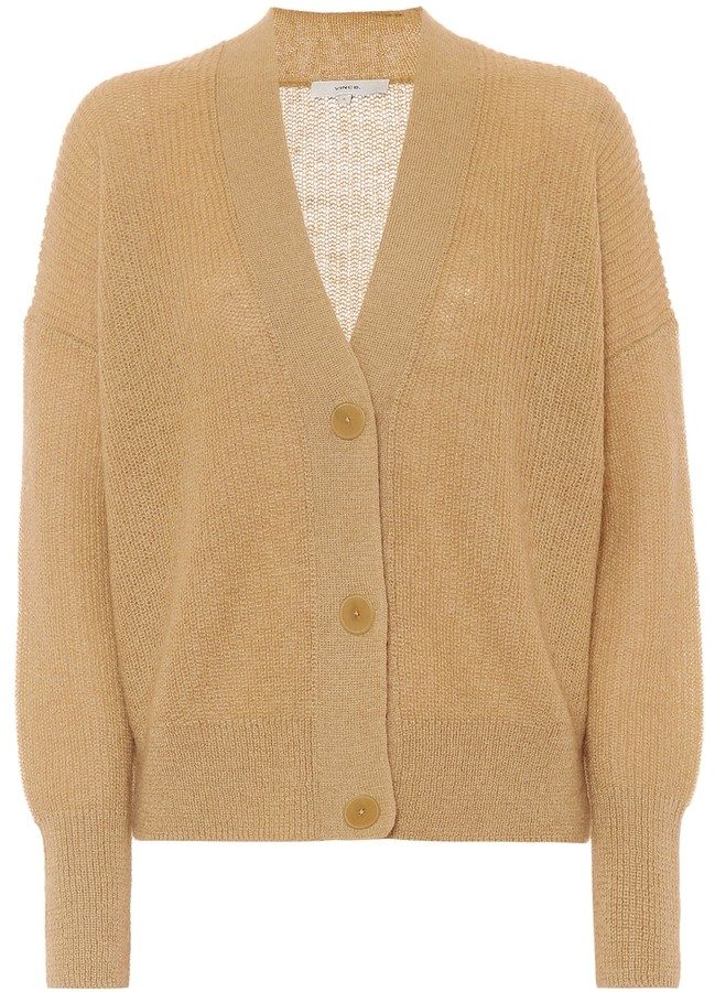 Vince Ribbed-knit cardigan