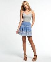 Superdry Broderie Shimmer Skirt