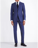 Tom Ford Windowpane Check Regular-fit Wool Suit