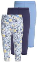 Mothercare FLORAL LEGGINGS BABY 3 PACK Trousers navy