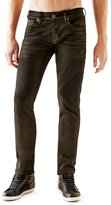 GUESS Slim Tapered Coated Jeans
