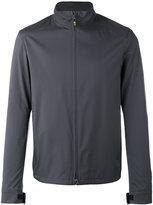 Loro Piana Zipped jacket - men - Polyamide/Polyurethane/Cashmere - XXL