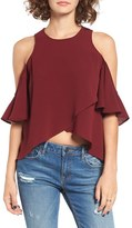 The Fifth Label Women's Lovers & Friends Cold Shoulder Blouse