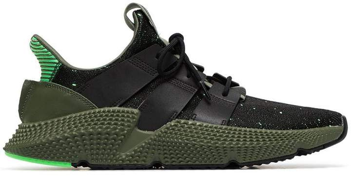 adidas green Prophere leather sneakers