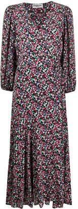 Essentiel Antwerp Flared Floral-Print Dress