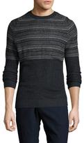 Antony Morato Intarsia Knit Sweater