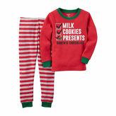 Carter's Boys 2-pc. Long Sleeve Pant Pajama Set-Preschool