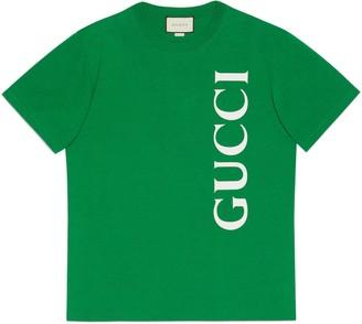 Gucci print oversize T-shirt
