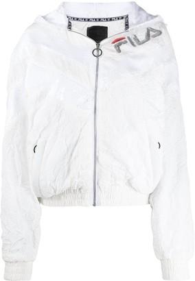 Fila Sequin-Embellished Logo Jacket
