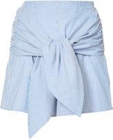 Vivetta - tied waist shorts - women - Cotton - 38