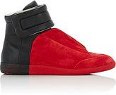 Maison Margiela Men's Bi-Color Future Ankle-Strap Sneakers-RED