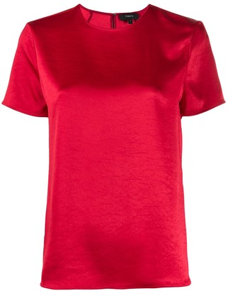 Theory Round Neck Short Sleeve Top