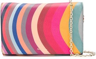 Paul Smith Curved Stripe Clutch