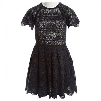 Manoush Navy Cotton Dresses